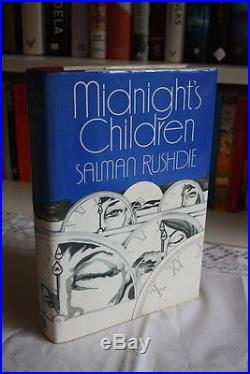 Salman Rushdie,'Midnight's Children', SIGNED first edition 1st/1st Booker