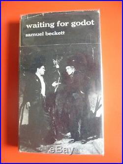 Samuel Beckett,'Waiting for Godot', SIGNED first edition 1st/1st Faber, Nobel