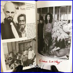 Satan Wants You Anton LaVey Rare Signed First Edition Baphomet Satanic Demon