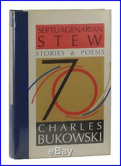 Septuagenarian Stew CHARLES BUKOWSKI Signed Limited First Edition 1/500 1st