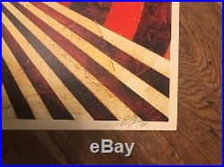 Shepard Fairey Obey Giant Tunnel Vision Print Set First Edition Signed & #/400