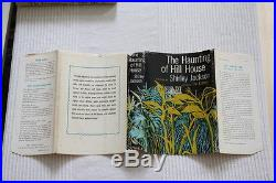 Shirley Jackson (1959)'The Haunting of Hill House', signed first edition 1/2