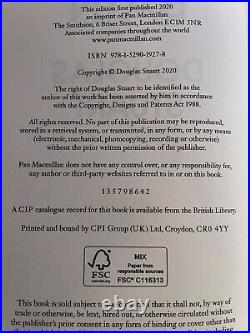 Shuggie Bain UK Signed 1st Edition / 1st Printing