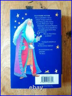 Signed 1st Edition Harry Potter And The Philosopher's Stone (welsh) J K Rowling