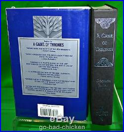 Signed A GAME OF THRONES by George R R Martin 1996 First Edition 1st Printing HC