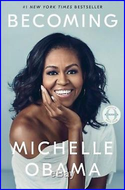 Signed Becoming Michelle Obama Autographed Book Hardcover First Edition