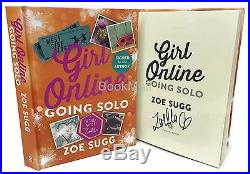 Signed Book Girl Online 3 Going Solo by Zoe Sugg (Zoella) First Edition