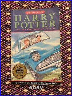 Signed By JK Rowling Harry Potter And The Chamber Of Secrets 1st Edition