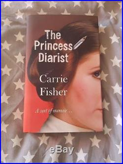 Signed Carrie Fisher'The Princess Diarist' First Edition