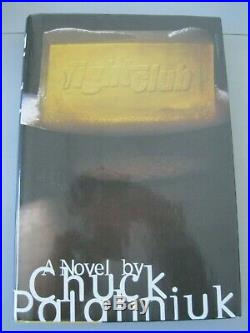 Signed Chuck Palahniuk Fight Club 1st Edition 1st Print HC 2nd State