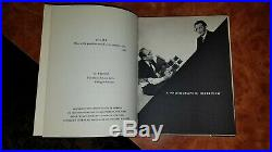 Signed Dali's Mustache by Salvador Dali & Philippe Halsman 1954 1st Edition HC