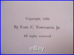 Signed First Edition Birdstones Of The North American Indian Townsend 1959