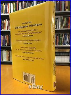 Signed! First Edition! First Printing! God Is Not Great by Christopher Hitchens