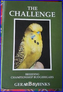 Signed First Edition Gerald Binks The Challenge