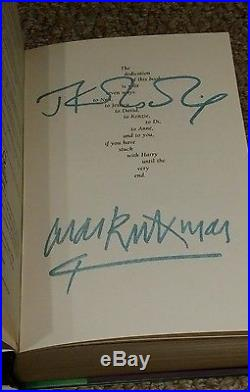 Signed First Edition Harry Potter and the Deathly Hallows (1st edition)