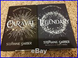 Signed First Edition Legendary Stephanie Garber 1st/1st HB Book