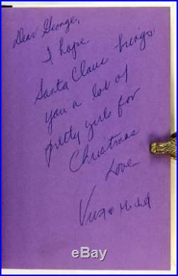 Signed First Edition Viva 1970 Superstar Andy Warhol Factory Film Star Novel
