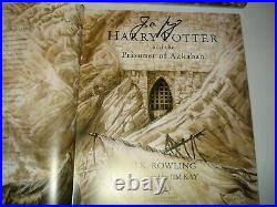 Signed Harry Potter First 4 Bks Illustrated by Jim Kay UK First Editions