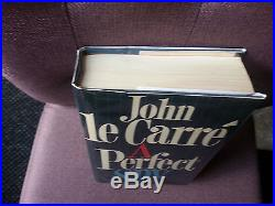 Signed John le Carré A Perfect Spy First UK Edition 1st Print