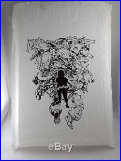 Signed Kim Jung-Gi Omphalos First Edition 2015 Original Sketch Book Collection