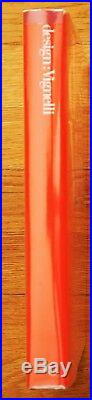 Signed Massimo Vignelli Design (knoll) 1990 1st Edition & Printing Fine Copy
