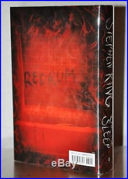 Signed Near Fine 1st/1st Edition Dr. Sleep Stephen King, With Signing Ticket