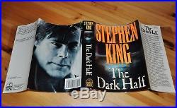 Signed Near Fine 1st/1st Edition The Dark Half Stephen King
