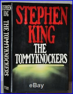 Signed Near Fine 1st/1st Edition The Tommyknockers Stephen King