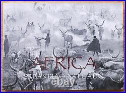 Signed Sebastiao Salgado Africa 2007 1st Edition & 1st Printing Hardcover Fine