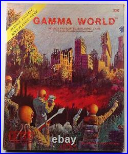 Signed Signed Gamma World First Edition 3rd Printing James Ward TSR Autographed