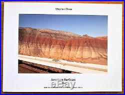 Signed Stephen Shore American Surfaces 1972 1st Edition & 1st Printing Nice