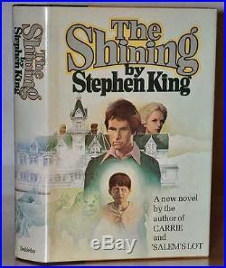 Signed Stunning 1st/1st Edition The Shining Stephen King W. Psa/coa