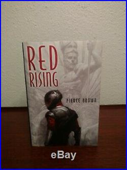 Signed Subterranean Press Limited Edition 1st/1st RED RISING Pierce Brown #167