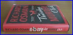 Signed The Thursday Murder Club 105/1000 Richard Osman 1st Edition Hb
