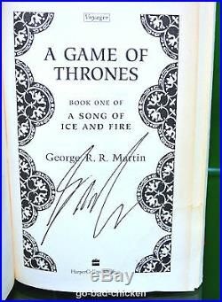 Signed True First Edition A GAME OF THRONES George R R Martin 1996 1st/1st book