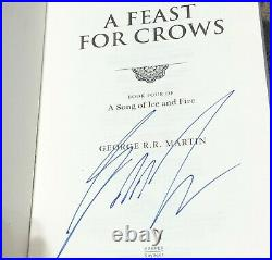 Signed UK 1st thus Slipcased Edition A Feast for Crows by George R. R. Martin