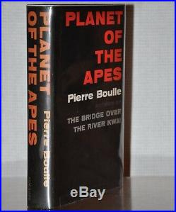 Signed W. Fantastic Als 1st/1st Edition Planet Of The Apes Pierre Boulle