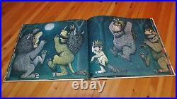 Signed Where The Wild Things Are First State, 1st/1st Editionmaurice Sendak