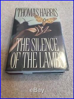 Silence Of The Lambs Signed Thomas Harris First Edition