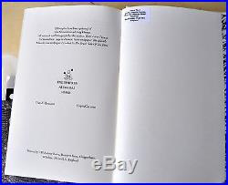 Sing Omega First Edition David Tibet/ Current 93 with CD + Signed Print RARE! OOP