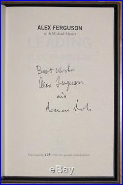 Sir Alex Ferguson Leading Signed UK HB LIMITED First Edition