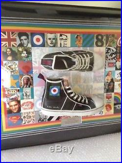 Sir PETER BLAKE'THE FIRST REAL POP SHOE' LIMITED EDITION RARE with COA