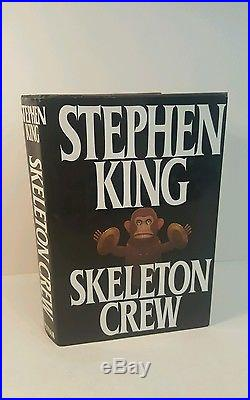 Skeleton crew. Stephen King. 1985. SIGNED FIRST EDITION