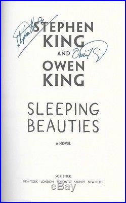 Sleeping Beauties by Stephen King and Owen King signed first edition withslipcase