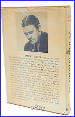 So Well Remembered Signed James Hilton First Edition 1945 1st Printing Rare Book