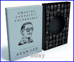 Stan Lee Amazing Fantastic Incredible Signed LIMITED First Edition