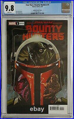 Star Wars Bounty Hunters 1 150 Dave Johnson Variant CGC 9.8 1st App Nakano Lash