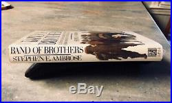 Stephen Ambrose BAND OF BROTHERS signed First Edition 1st Printing