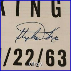 Stephen King 11/22/63 Signed Jfk Hardback 1st Edition First Printing Free Ship