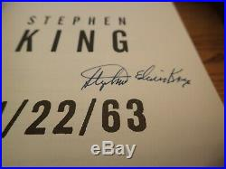 Stephen King 11/22/63 Signed Stephen Edwin King Very, Very Rare! First Edition